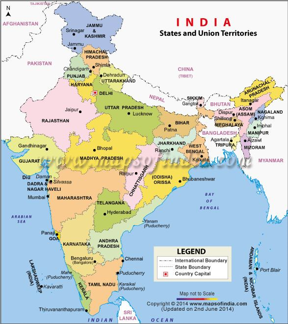 States and union territories of India List of Indian States and Union Territories India States and Union