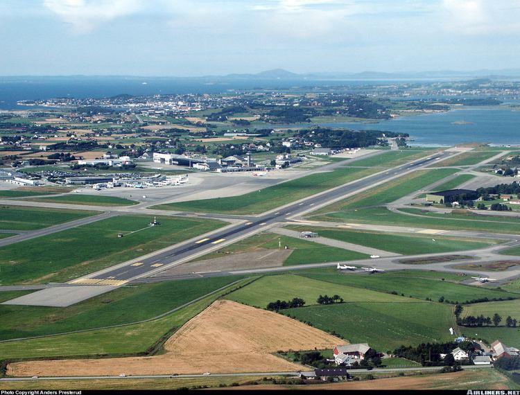 Nordens största flygplatser - Sola – Stavanger flygplats, Norge