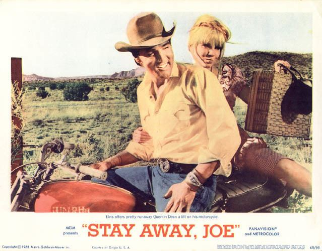Stay Away, Joe 1968 3 08 stay away joe Elvis and Quentin Dean 1968 3 08 Stay