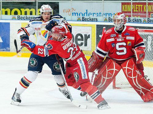 Stefan Bemström Hockey med Marie Hallman Silly season SSK Stefan Bemstrm slutar