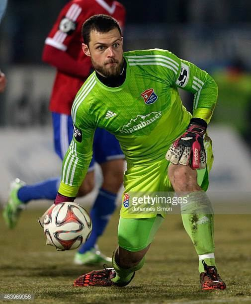 Stefan Marinovic Stefan Marinovic goalkeeper of Unterhaching in action during the