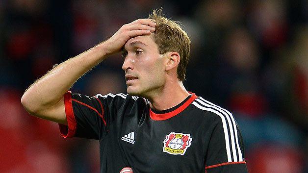 Stefan Reinartz Bayer Leverkusen39s Stefan Reinartz out for 3 months due to