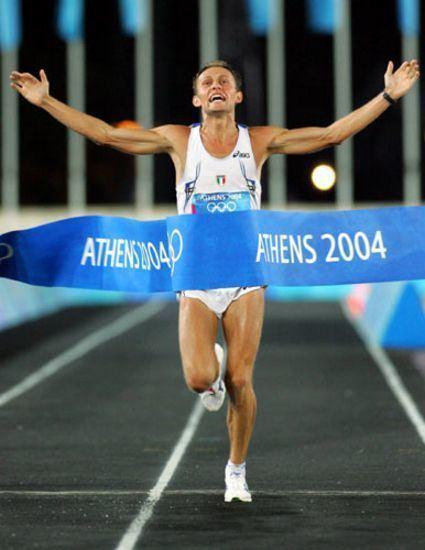 Stefano Baldini Atene Baldini la maratona un pezzo della nostra storia