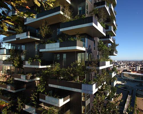 Stefano Boeri verticale by stefano boeri greens milans skyline
