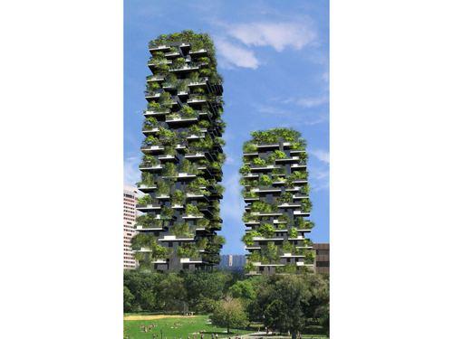 Stefano Boeri Boeris Bosco Verticale DETAIL Magazine of Architecture