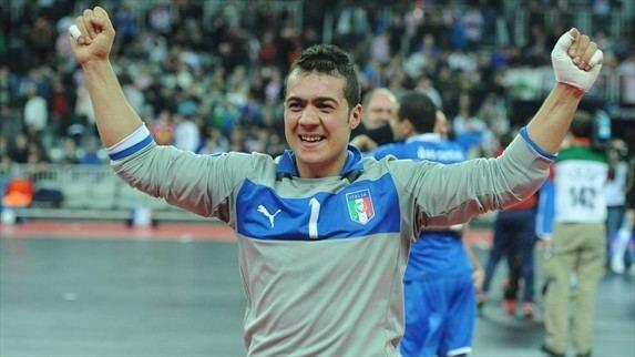 Stefano Mammarella Medallist Mammarella credits Italy teammates Futsal