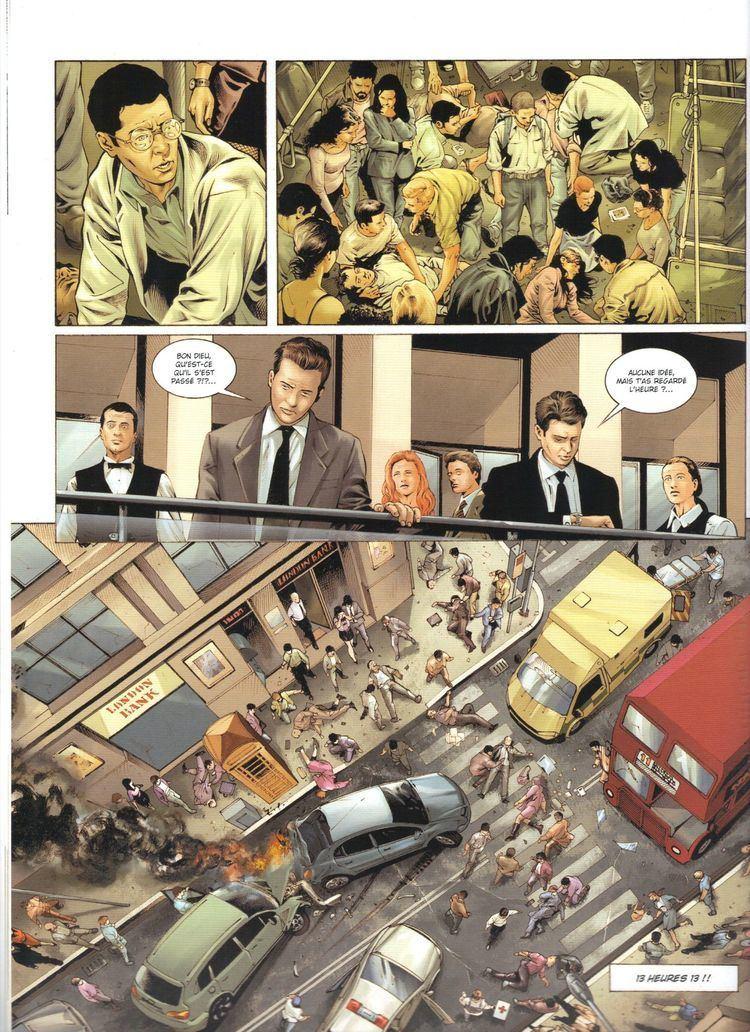 Stefano Raffaele PROMETHEE Volume 4 MANTIQUE par Christophe Bec