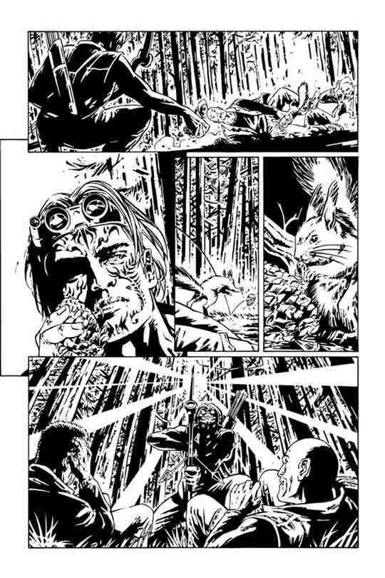 Stefano Raffaele Amazing Comics Preview Hawkeye by Stefano Raffaele in
