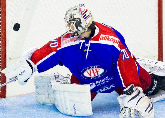 Steffen Søberg Bonsaksenkanon reddet Vlerengapoeng Norsk ishockey VG