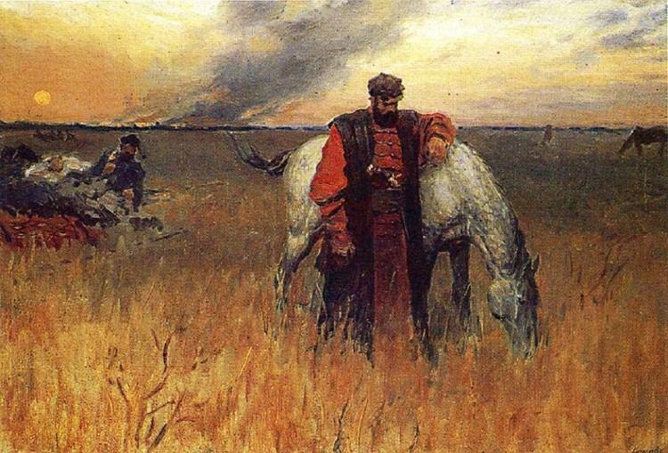 Stepan Razin Sergei Kirillov On the Outskirts of Simbirsk Stepan