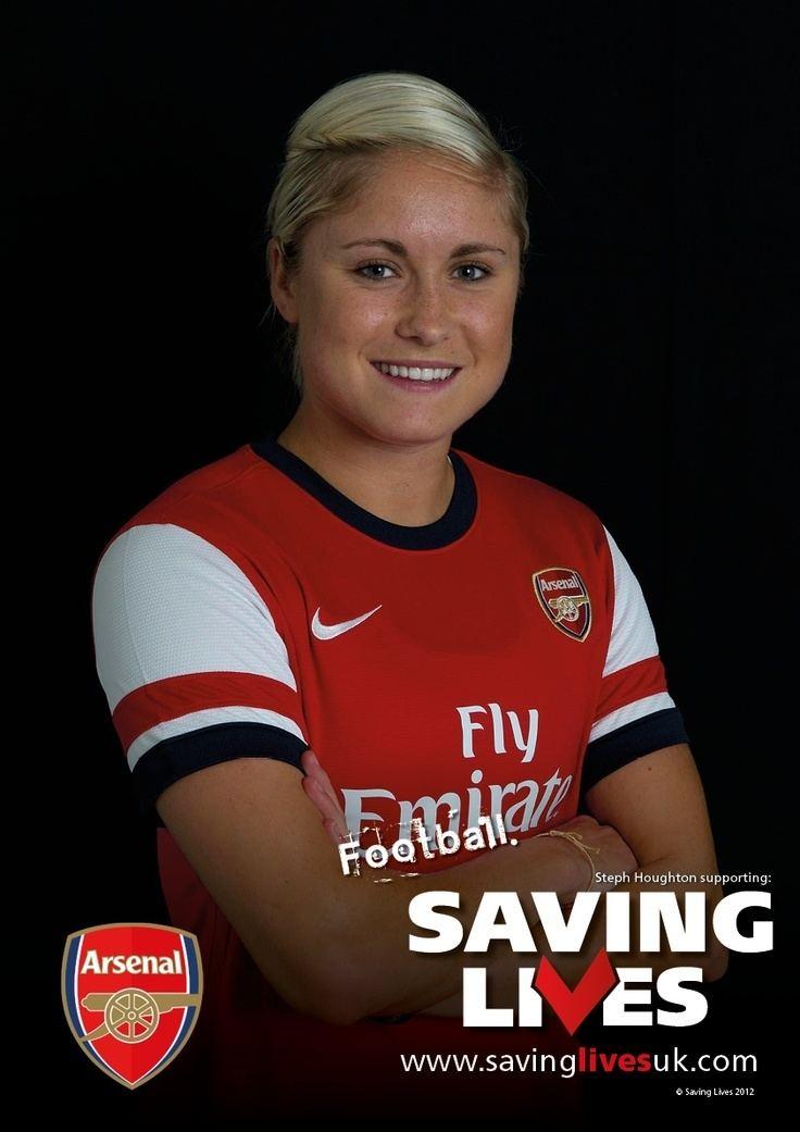 Steph Houghton 14 best Steph Houghton images on Pinterest Arsenal Football stuff
