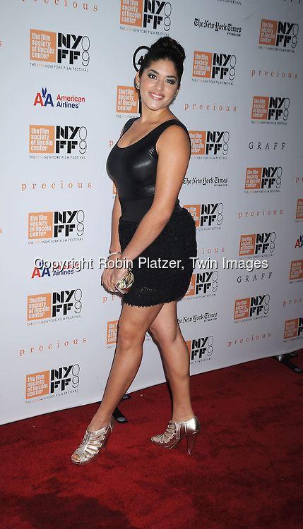 Stephanie Andujar Precious Screening at The Film Society of Lincoln Center