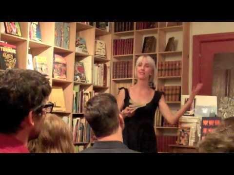 Stephanie Barber Stephanie Barber performs NIGHT MOVES General Idea 12