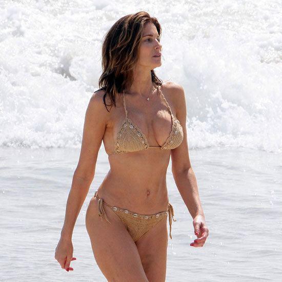 Stephanie Seymour Stephanie Seymour Bikini Pictures in St Barts POPSUGAR
