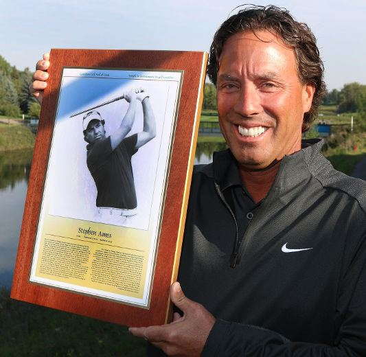 Stephen Ames Meet Stephen Ames Canadas newest member of the Canadian Golf Hall