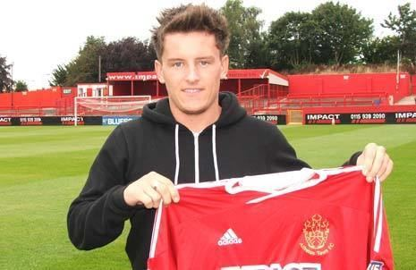 Stephen Brogan Alfreton Town FC News from the Chesterfield Post