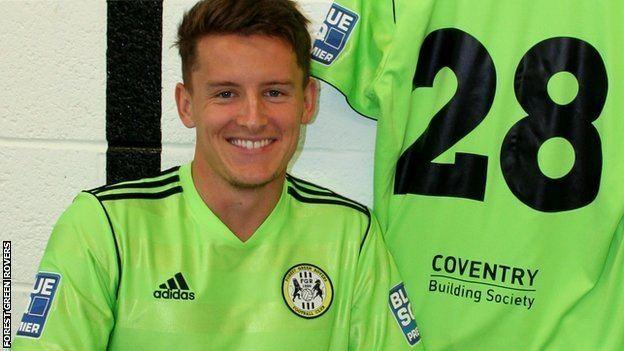Stephen Brogan BBC Sport Forest Green Rovers sign Steve Brogan from