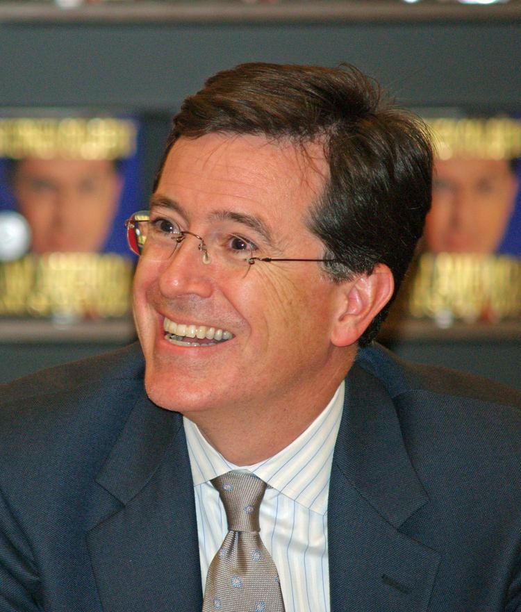 Stephen Colbert Stephen Colbert Wikipedia the free encyclopedia