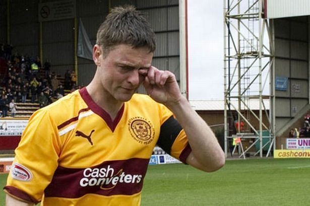 Stephen Craigan SPL Motherwell 0 Dundee United 2 Daily Record