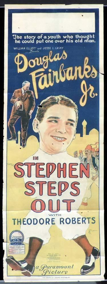 Stephen Steps Out STEPHEN STEPS OUT Long Daybill Movie poster 1923 JOHN RICHARDSON