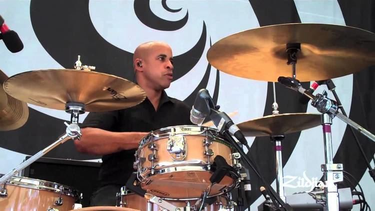 Sterling Campbell Zildjian Behind the Scenes Sterling Campbell B 52s YouTube