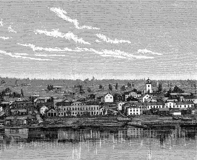 Ostersund in the past, History of Ostersund