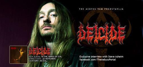Steve Asheim The Aebyss Portal INTERVIEW Deicide Steve Asheim In