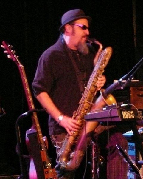 Steve Berlin Steve Berlin of Los Lobos My favorite bari sax player