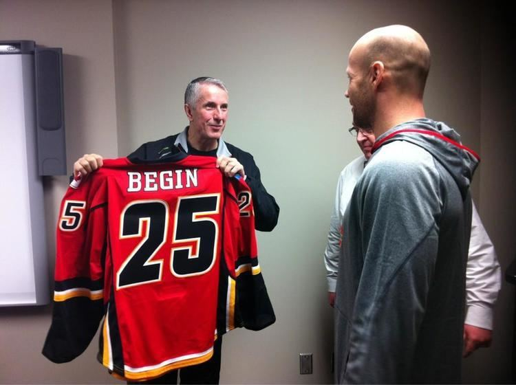 Steve Begin Flames Officially Sign Steve Begin After Successful Tryout