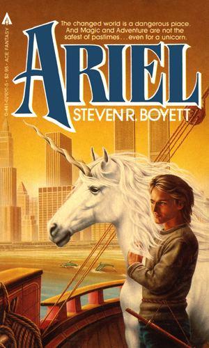Steve Boyett SF REVIEWSNET Ariel Steven R Boyett