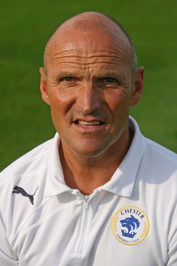 Steve Burr Delighted39 Steve Burr extends Chester FC contract