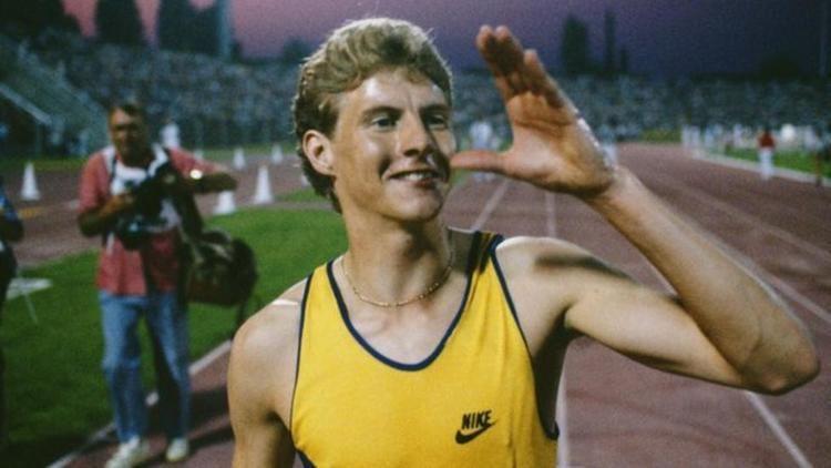 Steve Cram Steve Cram reflects on world mile record 30 years on BBC Sport