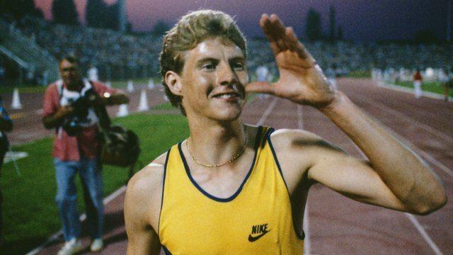 Steve Cram Steve Cram reflects on world mile record 30 years on BBC