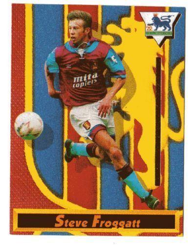Steve Froggatt ASTON VILLA Steve Froggatt 11 MERLIN Premier League 1994