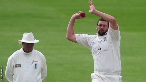 Steve Harmison Former England fast bowler retires BBC Sport