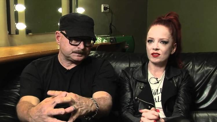 Steve Marker Garbage interview Shirley Manson and Steve Marker part