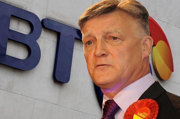 Steve McCabe (politician) Selly Oak MP Steve McCabe blames BT billing error over