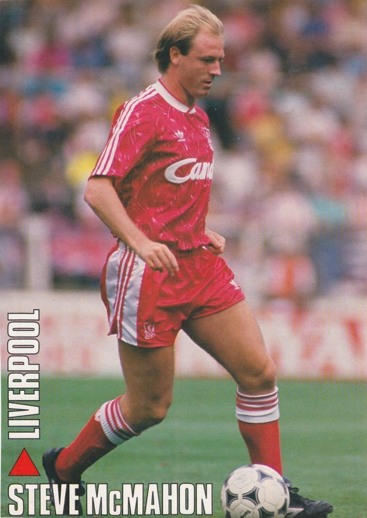 Steve McMahon Liverpool career stats for Steve McMahon LFChistory Stats galore