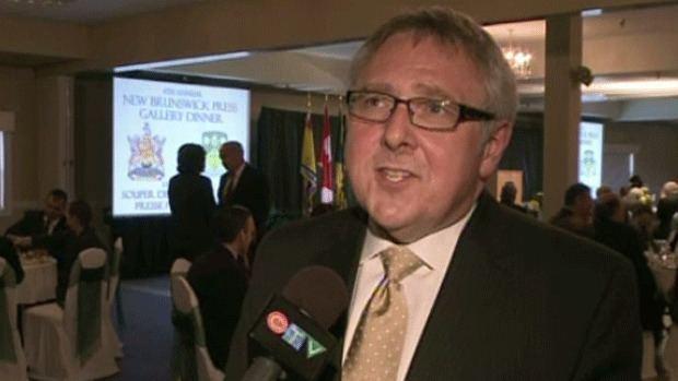 Steve Murphy (news anchor) Steve Murphy honoured with Eldred Savoie Award at annual Press