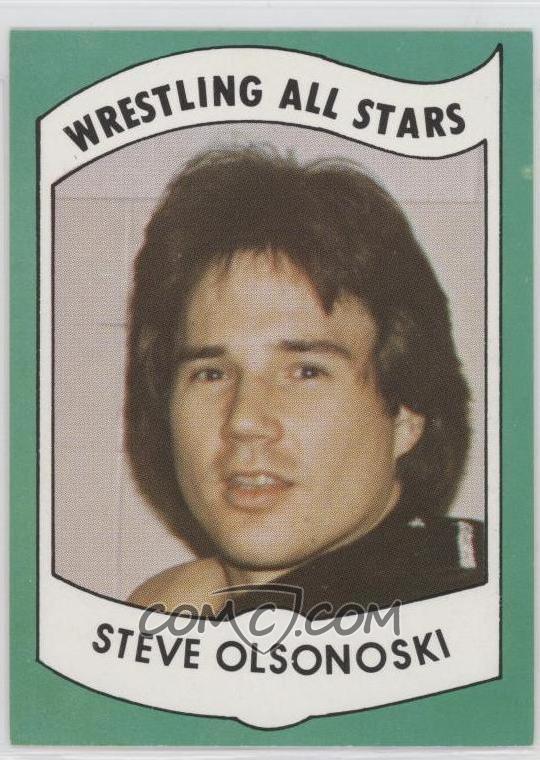 Steve Olsonoski 1982 Wrestling AllStars Series A Base 17 Steve Olsonoski