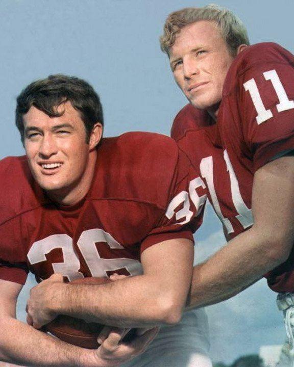 Steve Owens (American football) FB Steve Owens QB Jack Mildren of Oklahoma 1969 OU Football