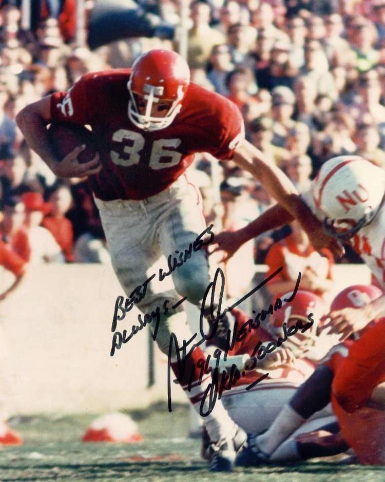 Steve Owens (American football) Greatest Sooner Running Backs Number 5 Steve Owens