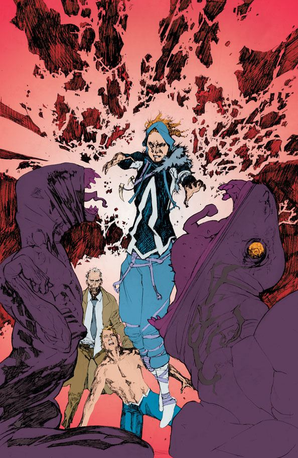 Steve Pugh Steve Pugh Back On Animal Man At DC Comics Bleeding Cool News And