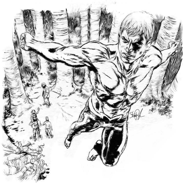 Steve Pugh Artist Steve Pugh talks ANIMAL MAN DC