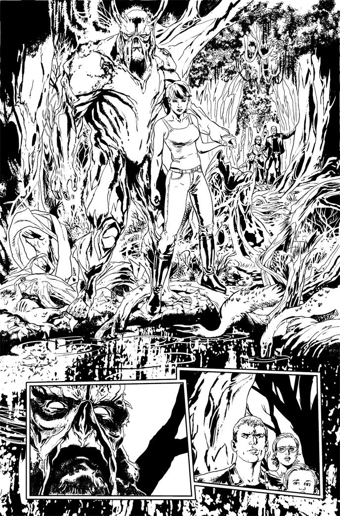 Steve Pugh Animal Man artist Steve Pugh talks Rotworld Prelude DC