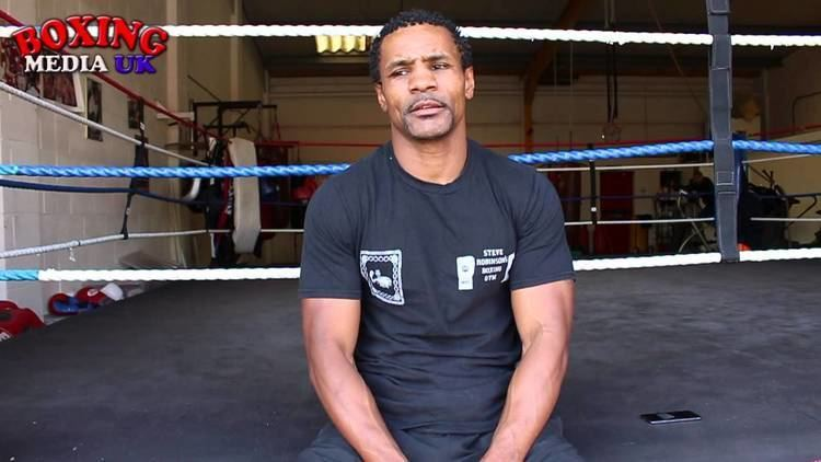 Steve Robinson (boxer) STEVE ROBINSON39S BOXING GYM YouTube