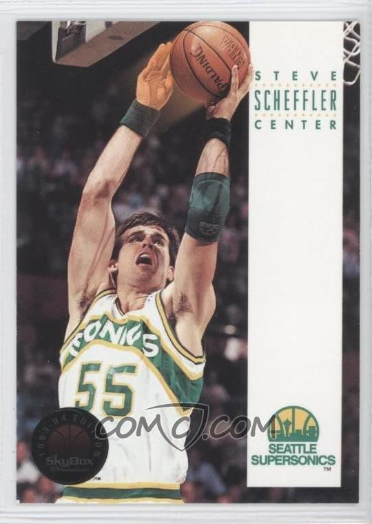 Steve Scheffler 199394 Skybox Premium 283 Steve Scheffler COMC Card