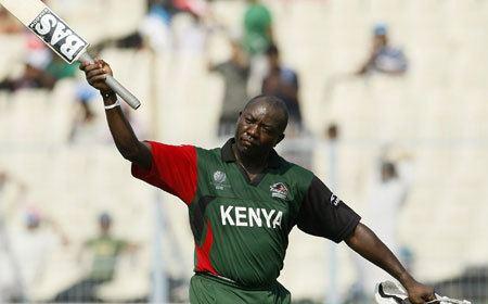 Famous Cricket players from Kenya Steve Tikolo and Thomas Odoyo