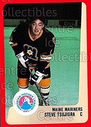Steve Tsujiura Amazoncom CI Steve Tsujiura Hockey Card 198889 ProCards AHL 159