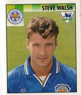 Steve Walsh (footballer) LEICESTER CITY Steve Walsh 226 MERLIN S English Premier